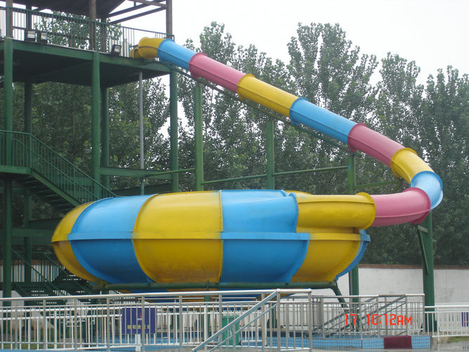 Amusement Park Super Bowl Water Slide Indoor or Outdoor for Family Members , Colorful or Customized