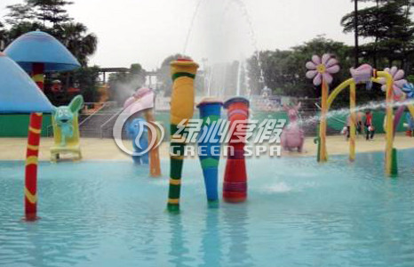 Water Park Equipment Colorful Cartoon Spout Spray for Amusement Park Equipment